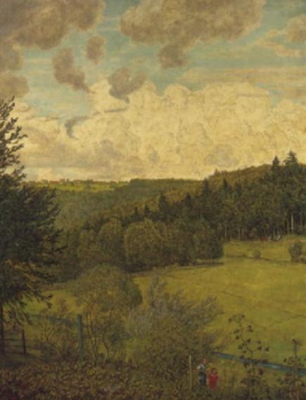 Hans Thoma -  Sommertag