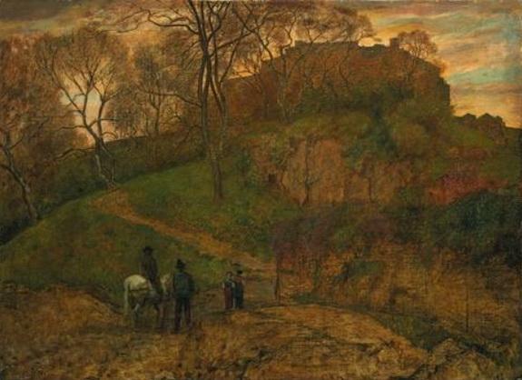 Hans Thoma - Landschaft bei Viterbo