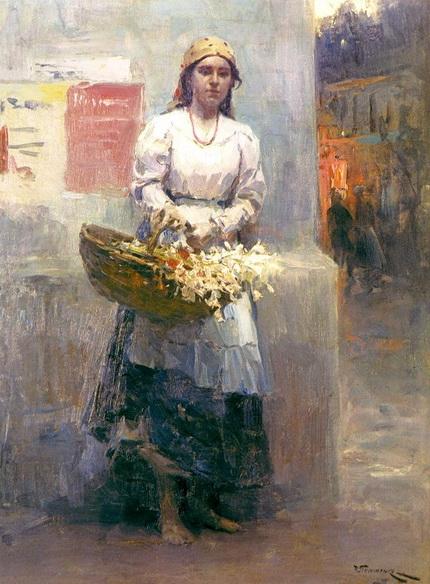 Николай Пимоненко - Flower-girl