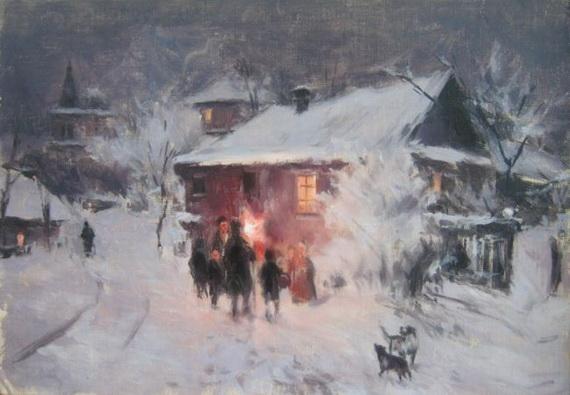 Николай Пимоненко - Колядки