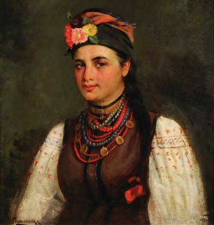 Николай Пимоненко - Портрет девушки