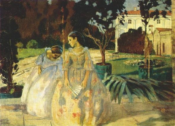 Борисов-Мусатов - Гобелен 1901