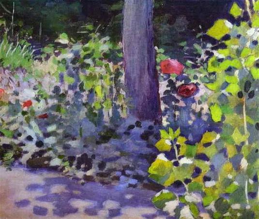 Борисов-Мусатов - Poppies in the Garden