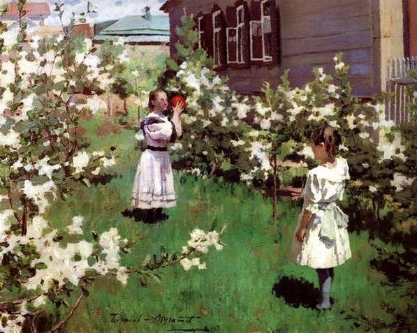 Борисов-Мусатов - Майские цветы