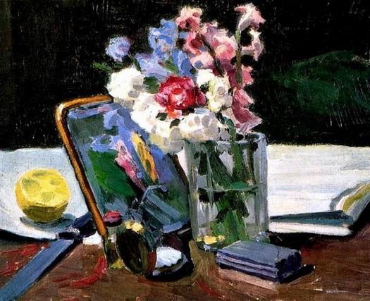 Борисов-Мусатов - Цветы