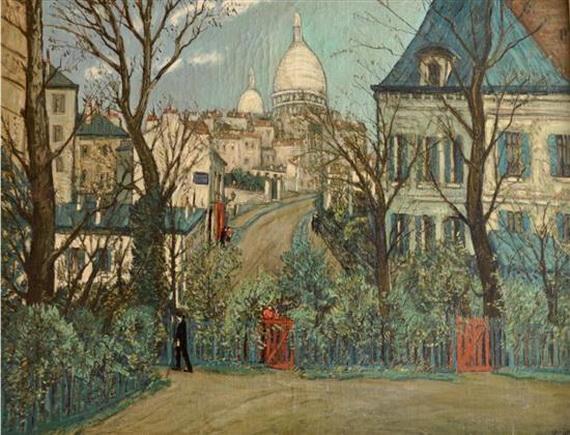 Alphonse Quizet - Urban landscape