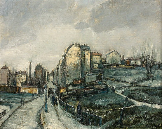 Alphonse Quizet -  Rue de Montmartre