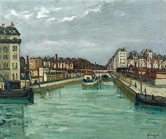 Alphonse Quizet -  Canal Paris