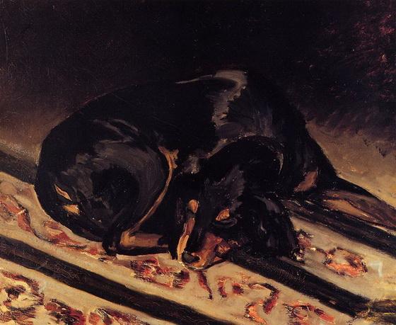 Bazille - The Dog Rita Asleep