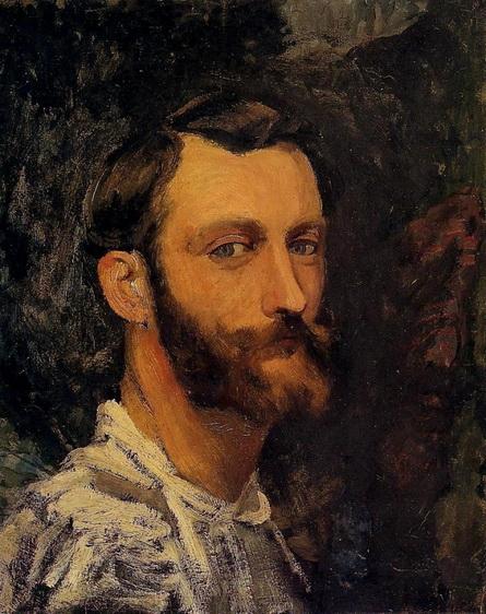 Jean Frederic Bazille - Self-Portrait