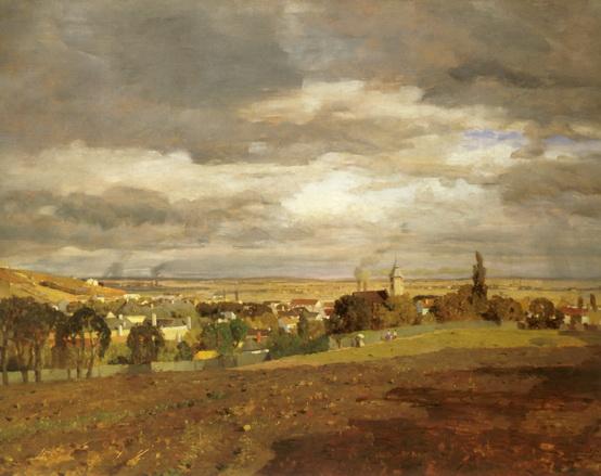 Tina Blau -  View of Heiligenstadt