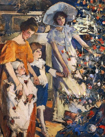 Elizabeth Adela Forbes - The Christmas Tree