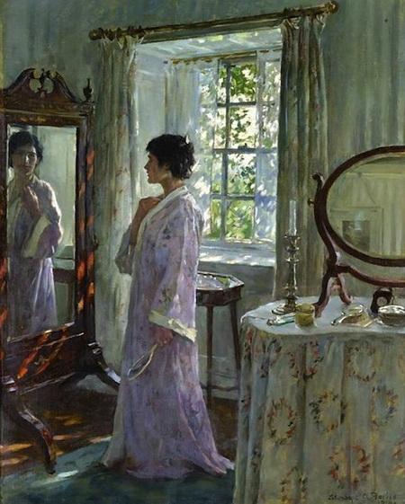 Elizabeth Adela Forbes - Looking Glass