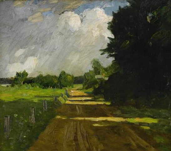 William Langson Lathrop -  After the storm