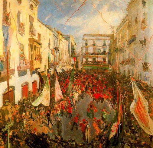 Joaquin Mir Trinxet - Las Comparsas