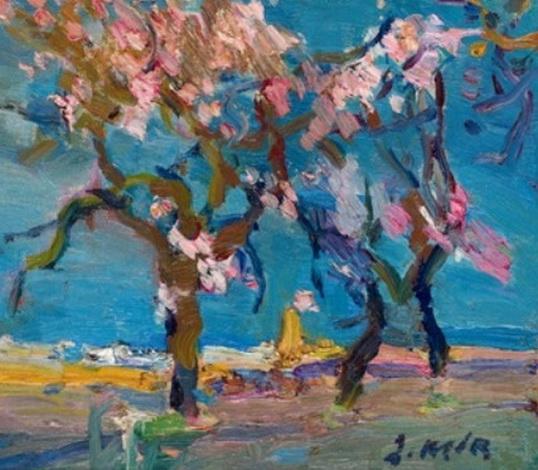 Joaquin Mir Trinxet - Almendros en flor
