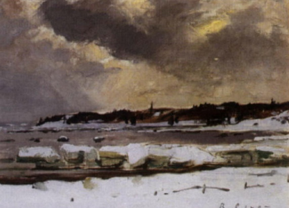 Robert Wakeham Pilot - Winter, Pte. au pic