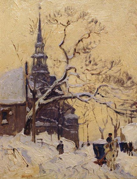 Robert Wakeham Pilot - Jesuite Church, Quebec City
