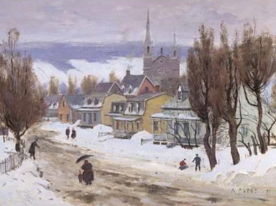 Robert Wakeham Pilot - Place d'Armes, Quebec