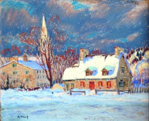 Robert Wakeham Pilot - Winter Evening, St-Hubert