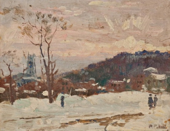 Robert Wakeham Pilot - Winter Sunrise, St. Georges Church