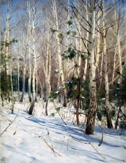 Светославский - Зимний пейзаж 2