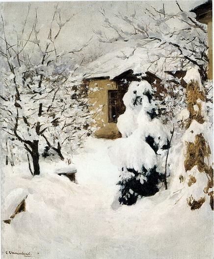 Светославский - Зимний пейзаж