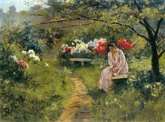 Светославский - В саду