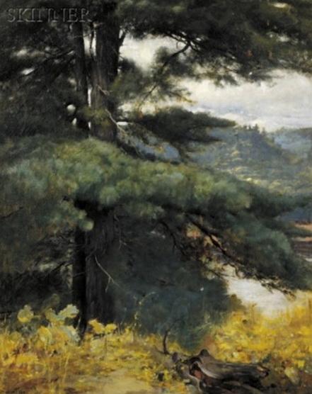 Douglas Volk - View at the artist's studio