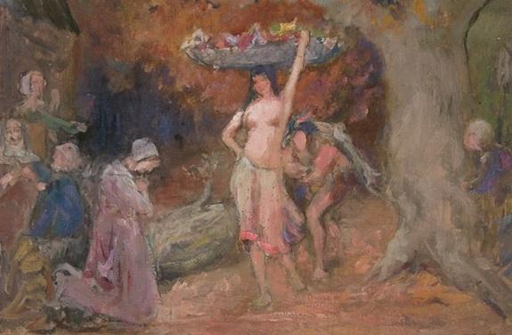 Douglas Volk - St. Joseph and the Christ Child