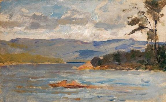 Douglas Volk - Kezar Lake