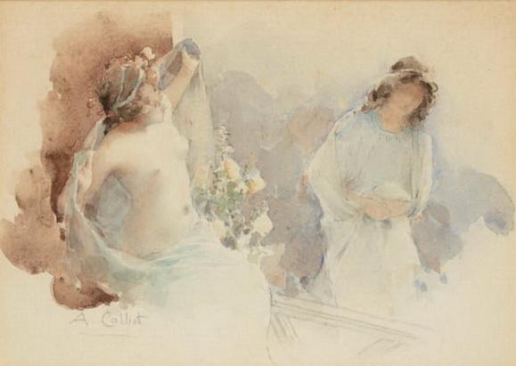 Antoine Calbet - Etude de femmes