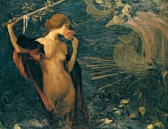 Edmond Aman-Jean - Venezia