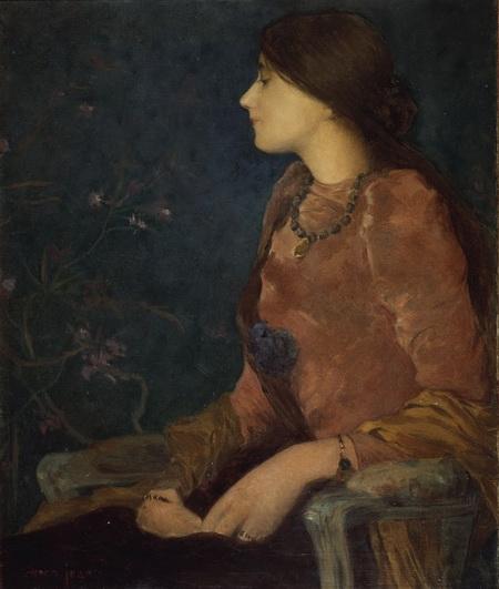 Edmond Aman-Jean - Caroline Jacquet