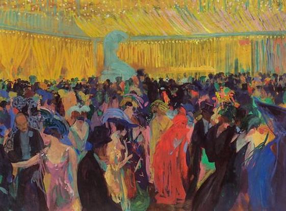 Otto Friedrich - Fest in der Secession