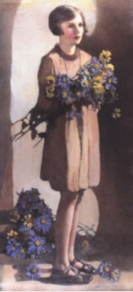Norah Neilson Gray - Michaelmas daisies