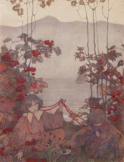 Norah Neilson Gray - String of Rowan Berries