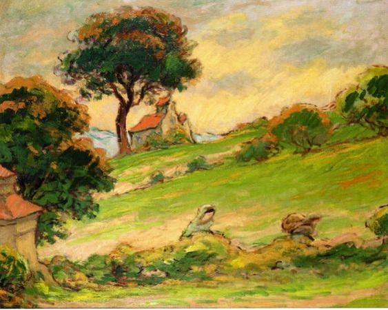 Emile Schuffenecker - Breton Landscape