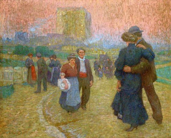 Emile Schuffenecker - Evening Walk