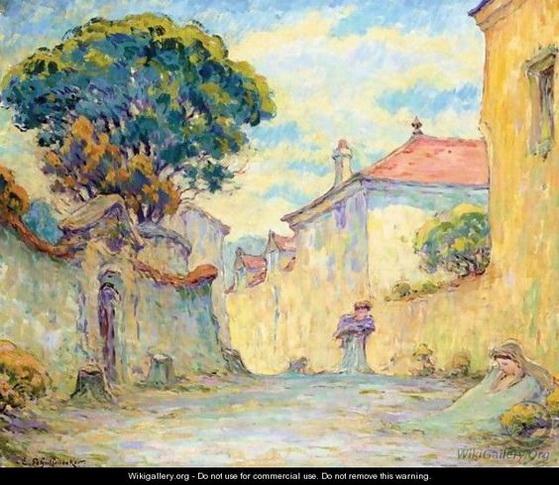 Emile Schuffenecker - La Rue A Meudon