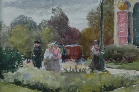 Emile Schuffenecker - Promenade