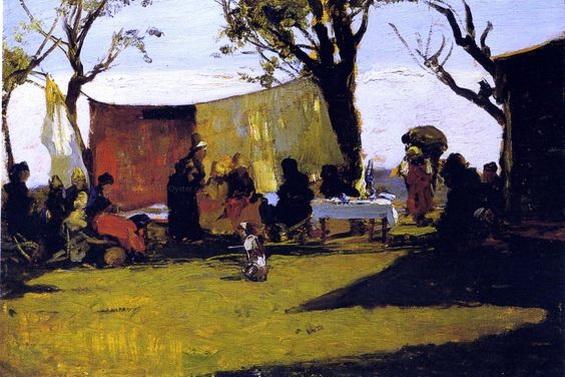 Lorenzo Delleani - Panni al Sole