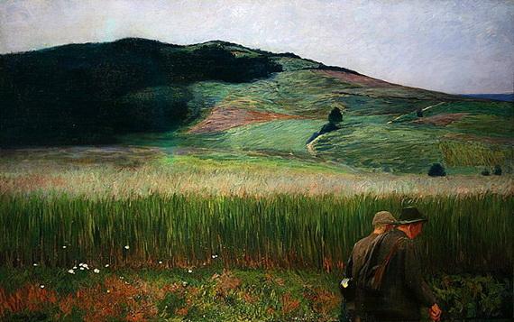 Carl Ludwig Noah Bantzer - Evening