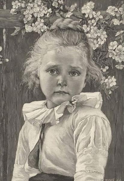 Carl Ludwig Noah Bantzer - Early Blossoms