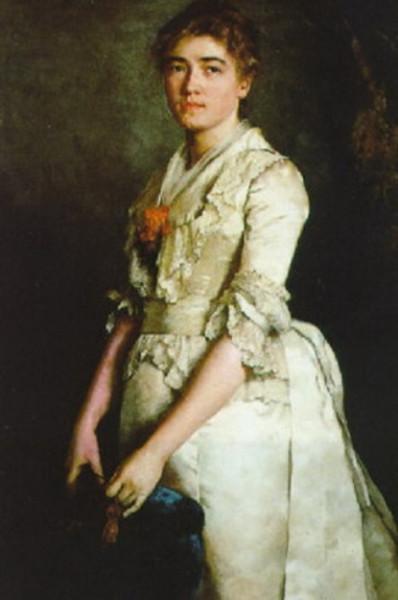 Carl Ludwig Noah Bantzer - Bildnis einer Dame