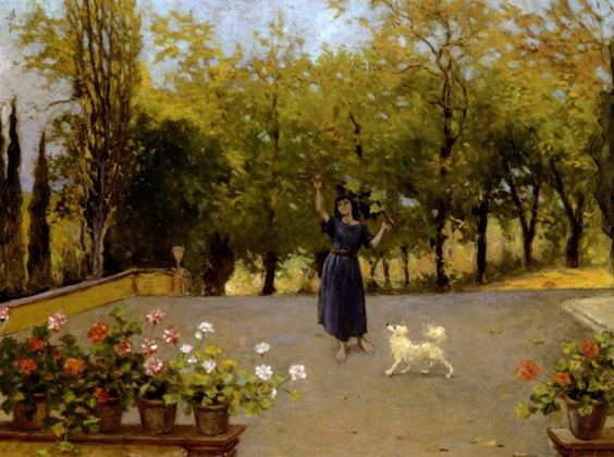 Francesco Gioli - Giochi davanti alla casa