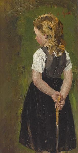 Johann Sperl - Stehendes