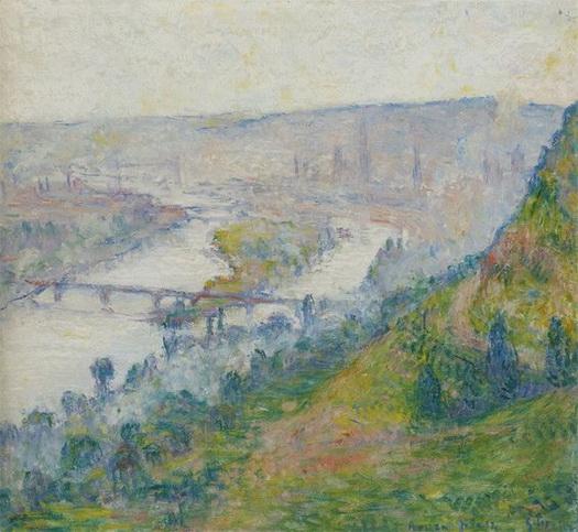 George Morren - Rouen vu de la colline de Bonsecours