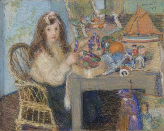Morren George - Marguerite et ses jouets