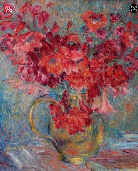 George Morren - Nature morte aux fleurs